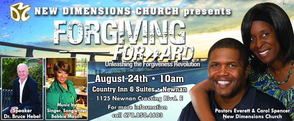New Dimensions Church_Forgiving Forward Flyer